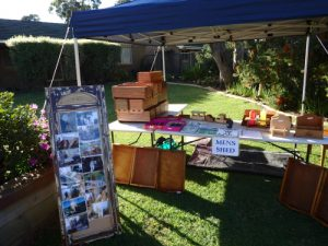 Banksia's Men's Shed fete stall