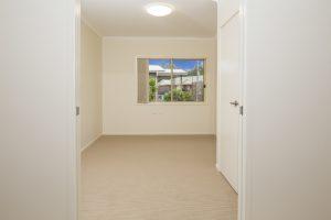 Unit 104 Bedroom 2 wider door way