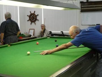 Banksia Village Snooker Group meets every Wednesday