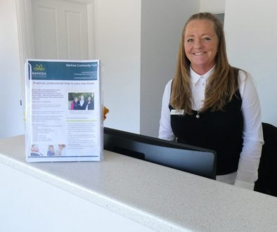 Dee at Banksia Community Care Reception